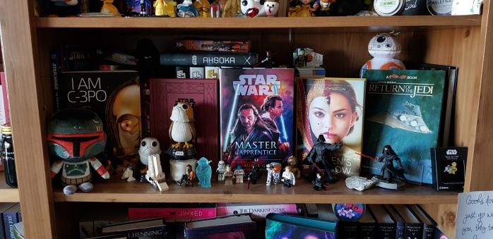 Boekenkast Star Wars
