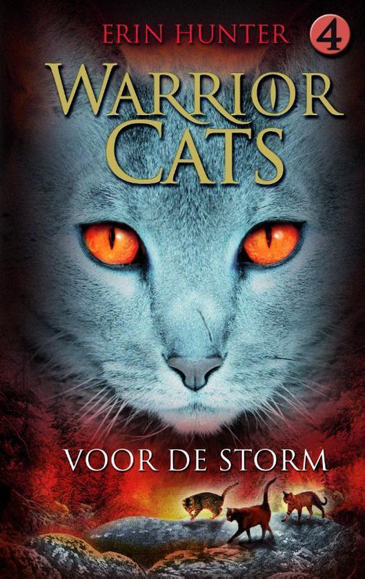 Warrior Cats - Voor de Storm - kaft