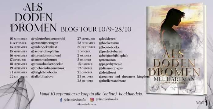 Als doden dromen blogtour banner