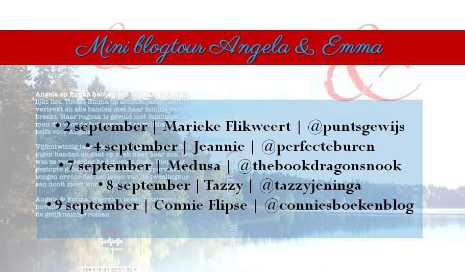 Angela en Emma Blogtour banner
