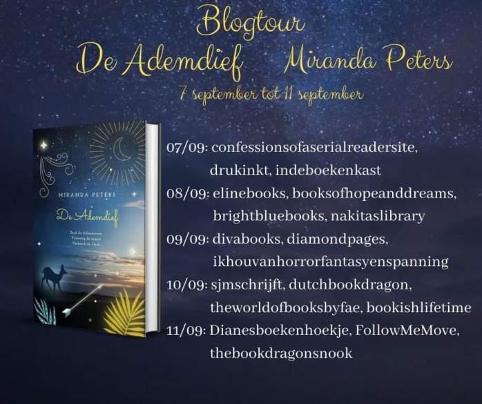 De Ademdief Blogtour Banner