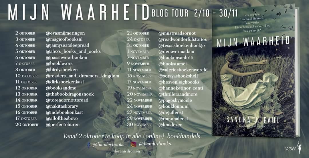 Mijn waarheid - Blogtour banner