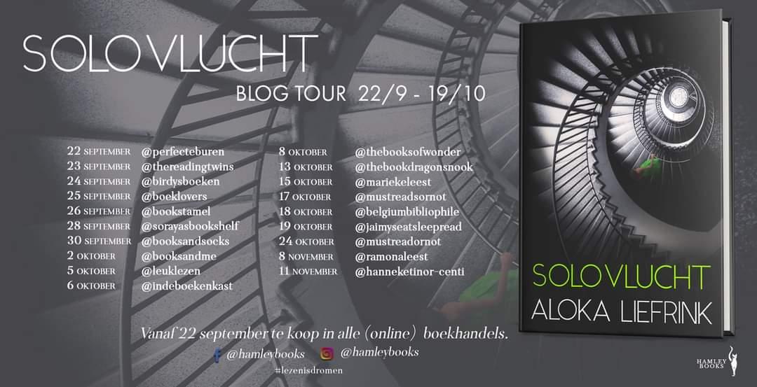 Solovlucht - banner blogtour