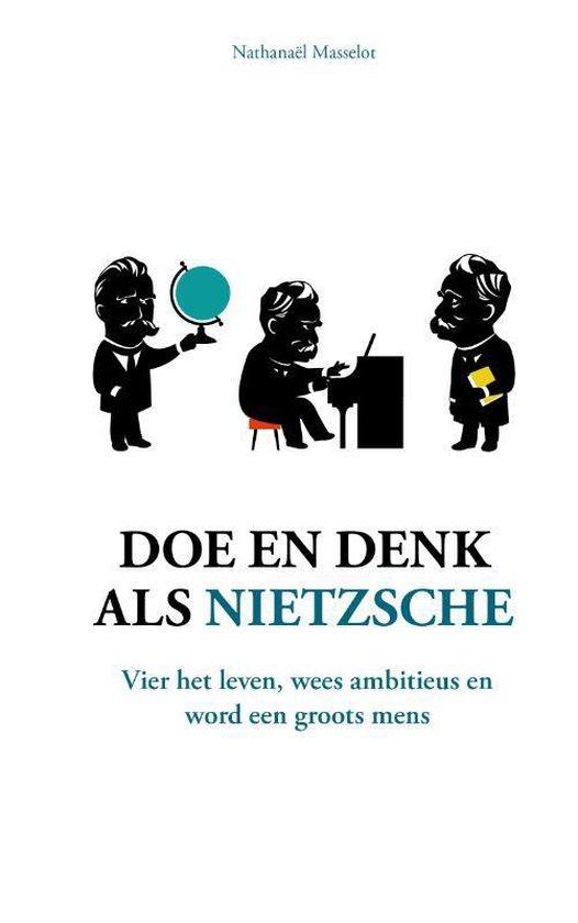 Doe en denk als Nietzsche - Kaft
