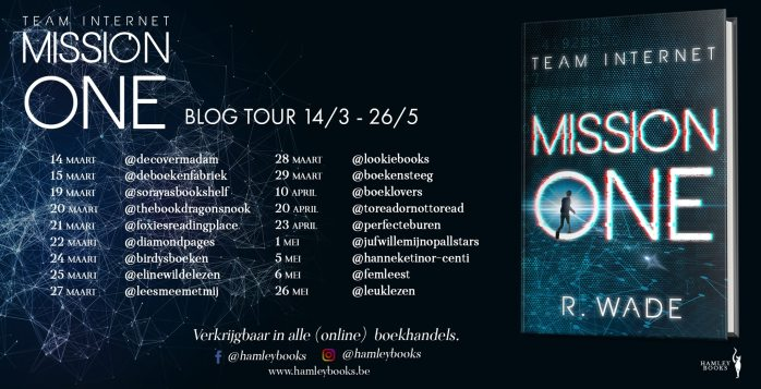 Mission One - Blogtour Banner