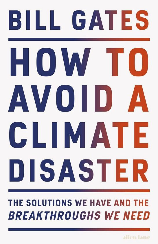 How to avoid a climate disaster - kaft