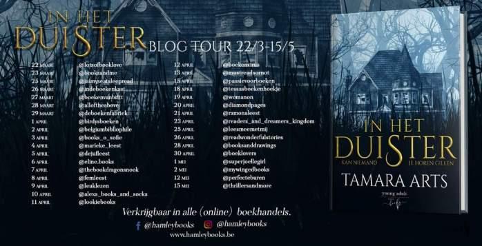 In het duister - blogtour banner