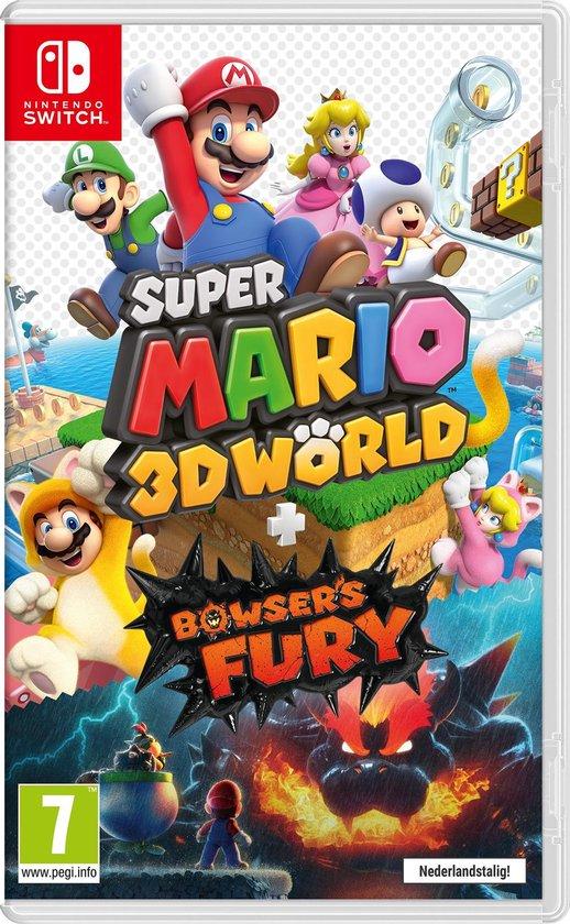 Super Mario 3D World - Cover