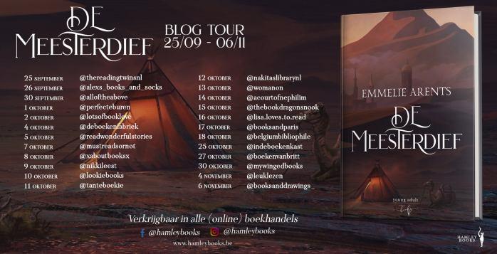 De Meesterdief Blogtour Banner